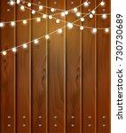 vector christmas background... | Shutterstock .eps vector #730730689
