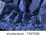 blue rocks | Shutterstock . vector #7307500