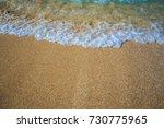 beach background | Shutterstock . vector #730775965
