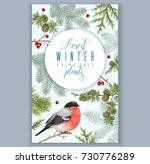 vector vintage banner with... | Shutterstock .eps vector #730776289