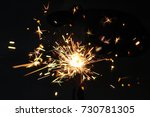christmas or new year party... | Shutterstock . vector #730781305