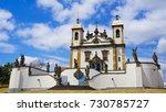 sanctuary of bom jesus do... | Shutterstock . vector #730785727