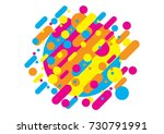 abstract style composition with ...   Shutterstock .eps vector #730791991