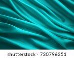 silk fabric background  blue... | Shutterstock . vector #730796251