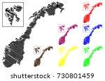 norway map vector illustration  ...   Shutterstock .eps vector #730801459