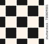 checkered geometric seamless... | Shutterstock .eps vector #730809001