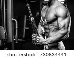 Handsome Muscular Caucasian Ma...