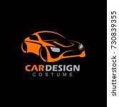 car design auto logo | Shutterstock .eps vector #730839355