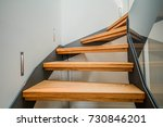 Modern Steel Staircase With...