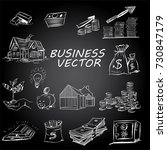 the concept for business... | Shutterstock .eps vector #730847179