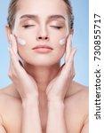 beauty concept  beauty portrait ... | Shutterstock . vector #730855717