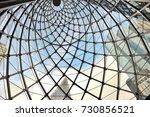 steel fence | Shutterstock . vector #730856521