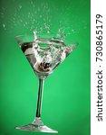 cocktail splashes serie in 5... | Shutterstock . vector #730865179