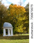 Small photo of Musical pavilion at manor Marfino. Moscow oblast. Russia