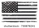 grunge usa flag.american flag... | Shutterstock .eps vector #730878241