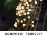 Small photo of light spots and bokeh,flashing light arch entrance, beautiful wallpaper background,blind spot
