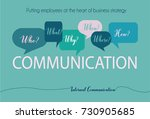 internal communications... | Shutterstock .eps vector #730905685