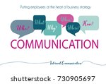 internal communications... | Shutterstock .eps vector #730905697
