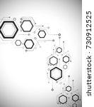 computer technology ... | Shutterstock .eps vector #730912525