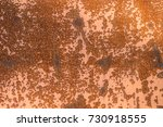 old rusty sheet metal for a... | Shutterstock . vector #730918555