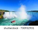 niagara falls | Shutterstock . vector #730932931