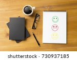 business man and woman select... | Shutterstock . vector #730937185