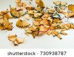 sharpener of crayons | Shutterstock . vector #730938787