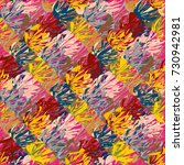 abstract colorful pattern for... | Shutterstock . vector #730942981