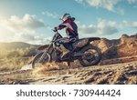 enduro extreme motocross mx... | Shutterstock . vector #730944424