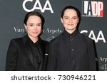 Small photo of LOS ANGELES - OCT 7: Ellen Page, Emma Portner at the 2017 Los Angeles Dance Project Gala at the LA Dance Project on October 7, 2017 in Los Angeles, CA