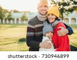 horizontal portrait of young... | Shutterstock . vector #730946899