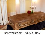 funeral and mourning concept  ... | Shutterstock . vector #730951867