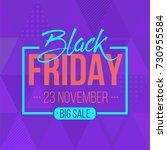 abstract vector black friday...   Shutterstock .eps vector #730955584