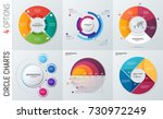 collection of vector circle... | Shutterstock .eps vector #730972249