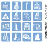 industry icon set vector   Shutterstock .eps vector #730974349