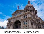 texas state capitol | Shutterstock . vector #730975591