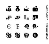 various icons representing...   Shutterstock .eps vector #730993891