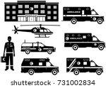 medical concept. set of...   Shutterstock .eps vector #731002834