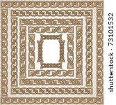 celtic knot ornaments vector set | Shutterstock .eps vector #73101532