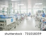 patient room blurred background ... | Shutterstock . vector #731018359