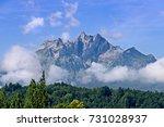 view of majestic mt. pilatus... | Shutterstock . vector #731028937