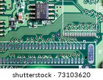 an image of electronic circuit... | Shutterstock . vector #73103620