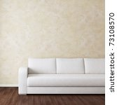 interior room with white fabric ... | Shutterstock . vector #73108570