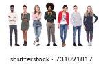 group of people   Shutterstock . vector #731091817