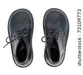 Pair Of Black Kid's Shoes...