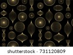 seamless geometric pattern from ... | Shutterstock .eps vector #731120809
