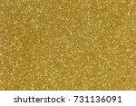 gold glitter texture christmas... | Shutterstock . vector #731136091