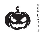 pumpkin vector  halloween... | Shutterstock .eps vector #731150311
