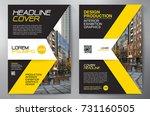 business brochure. flyer design....   Shutterstock .eps vector #731160505