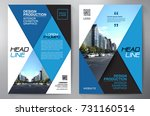 business brochure. flyer design.... | Shutterstock .eps vector #731160514